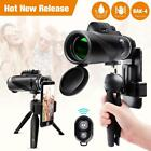 Monocular Telescope 12x50 High Power Waterproof Scope Phone Mount
