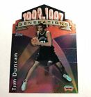 Tim Duncan Visual Rookie Card Guide and Checklist 33