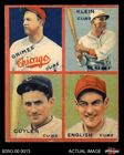 1935 Goudey Baseball Cards 10