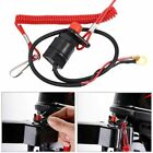 Outboard Cut off Boat Motor Kill Stop Switch Safety Tether Lanyard For Yamaha DL