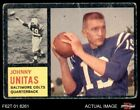 Johnny Unitas Cards, Rookie Card and Autographed Memorabilia Guide 11