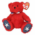 Ty Beanie Baby Sparklers - MWMT (Bear Red Internet Exclusive 2007) Patriotic