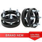 4Pcs for Jeep 125 Inch Wheel Spacers Black Rubicon Wrangler 5 x 127mm Vehicle