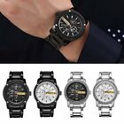 Casual 8069 Men Watch Waterproof Quartz Watch with Calendar & Time Display FO
