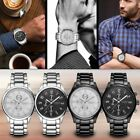 Casual 8046 Fashion Business Style Men Watch Waterproof Quartz Movement Watch FO