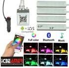 ICBEAMER COB LED Multi color Music Fit all Vehicle Control by Phone Apps...