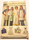 U Pick Vintage Patterns Aprons Womens Men Children