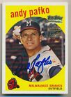 Andy Pafko Cards and Autograph Memorabilia Guide 38
