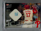 2017 Topps Now Rhys Hoskins Players Weekend Relic Jersey 99 Rookie Phillies