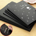 60 Pages Black Paper Sketch Book Diary Soft Cover For Drawing Painting Graffiti