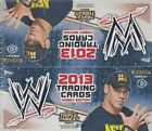 2013 Topps WWE Triple Threat Hobby Wrestling Box