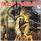 IRON MAIDEN 1980 PAUL DI'ANNO & DENNIS STRATTON 1st Album Debut Autograph SIGNED