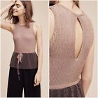 NIP Anthropologie by Moth Riella Sleeveless Pullover Sweater/Top, Size M, L, XL