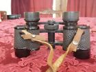Vintage Prism binoculars with leather case Free Standard Shipping