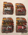 4 TONKA METAL DIE CAST EMERGENCY VEHICLES FIRE PUMPER SKYLIFT 1ST RESPONSE