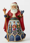 Enesco Jim Shore Heartwood Creek Spanish Santa NIB  4053710