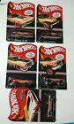 Hot Wheels 2014 Mail In Set Chevelle+69 Camaro+88 Jeep+56 Ford Truck+59 Cadillac