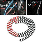 Motorcycle Engine Protective Bar Decorative Bright Reflective Layer Spiral Cover