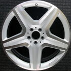 Mercedes Benz ML550 Machined 20 inch OEM Wheel 2013 2015 1664012002 1664012002