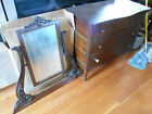 Antique Dresser with Beveled Mirror Good Condtion for 100+ yrs Old