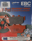 EBC Brake Pads for V-Series Fits 2002 Triumph Daytona 955I Centennial Edition Di