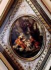A Vintage Turner Manufacturing Wall Accessory Titled Romance Scene Italy Framed