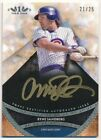 RYNE SANDBERG 2011 TOPPS TIER ONE GOLD INK AUTOGRAPH CUBS AUTO SP #21 25 $100