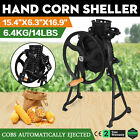 Heavy Duty Manual Farm Hand Corn Sheller Thresher Hand Crank Primitive