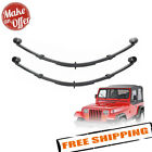 Pro Comp 51323 Rear 25 Lifted Leaf Springs 1987 1996 Jeep Wrangler YJ PAIR