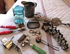LARGE GROUP Collectible OLD KITCHEN WARE...All AUTHENTIC ANTIQUE and VINTAGE