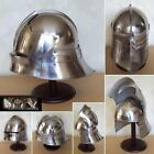 European close helmet  German Sallet  Wearable +Liner & Chin Strap free PP