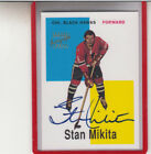 1998-99 TOPPS BLAST FROM THE PAST STAN MIKITA CHICAGO BLACKHAWKS AUTOGRAPH AUTO