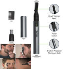 Wahl Nose Ear Trimmer Neck Hair Eyebrow Groomer Clippers Micro Personal Shaver