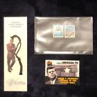 LOT JFK Berlin Wall Pieces and stamps Collectible John F Kennedy bookmark 1989
