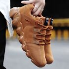 Hot Men Spring Casual Shoes Fashion Comfortable Stretch Sneaker Soft Suede