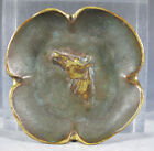 Vintage Virginia Metalcrafters Patinated Solid Brass Horse Head Dish Bowl NR yqz