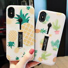 Pineapple Holder Stand Soft Phone Case Cover For Aplle iPhone 7 8 Plus Back