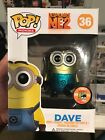 Funko Pop Movies 2013 SDCC Exclusive Despicable Me 2 Dave (LE 1 of 1008)