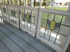V276 Lovely Older Leaded Stained Glass Window From England 4 Available