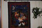 QUILTED WALL DECOR NATIVITY SCENE 34X42