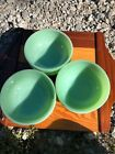 Lot Of 6 Vintage Small Fire King Jadeite Bowls - 5 inch Nice Condition