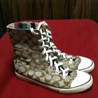 Coach Bonnie Hightop Shors Size 8m