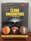 1978 Topps CLOSE ENCOUNTERS THIRD KIND Trading Card wax box SEALED
