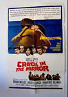 CRACK IN THE MIRROR 1960 ORIG US ONE SHEET MOVIE POSTER ORSON WELLES VF