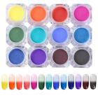 NICOLE DIARY 12 Colors Thermal Pigment Temperature Color Change Manicure Nail Ar