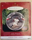 1997 Jackie Robinson Hallmark Ornament Baseball Heroes 50th Anv Dodgers MLB