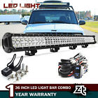 36in 234W LED Light Bar Off road Driving Combo Truck Lamp with Wire Harness