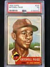 1953 Topps Satchel Paige #220 PSA VG 3 *Beautiful Centered Card*