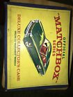 OFFICIAL MATCHBOX LESNEY 1968 72 DELUXE CAR COLLECTORS CARRY CASE