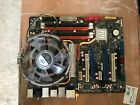 ASUS P5E3 Deluxe AiLifestyle Series LGA775 Socket Intel core 2 Extreme and fan